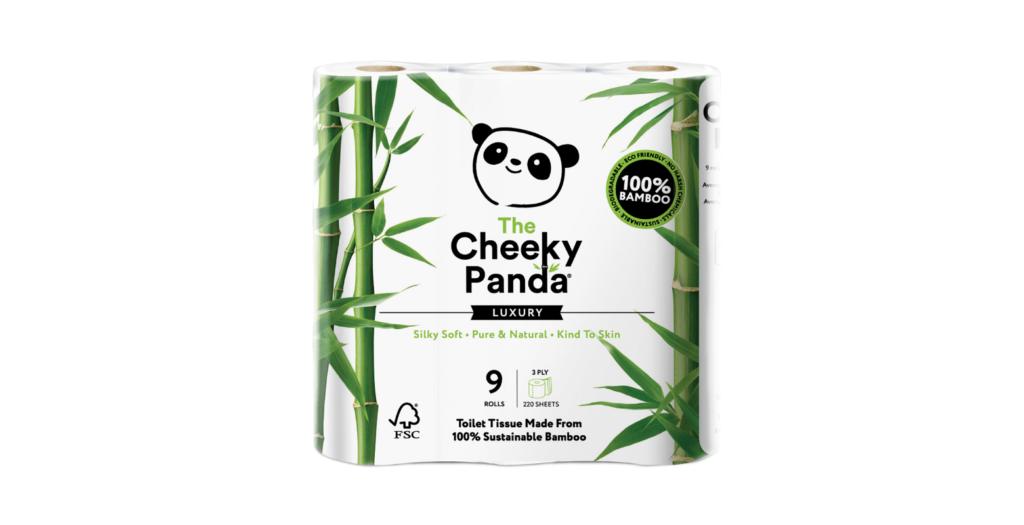 9 db-os bambusz WC papír - Cheeky Panda