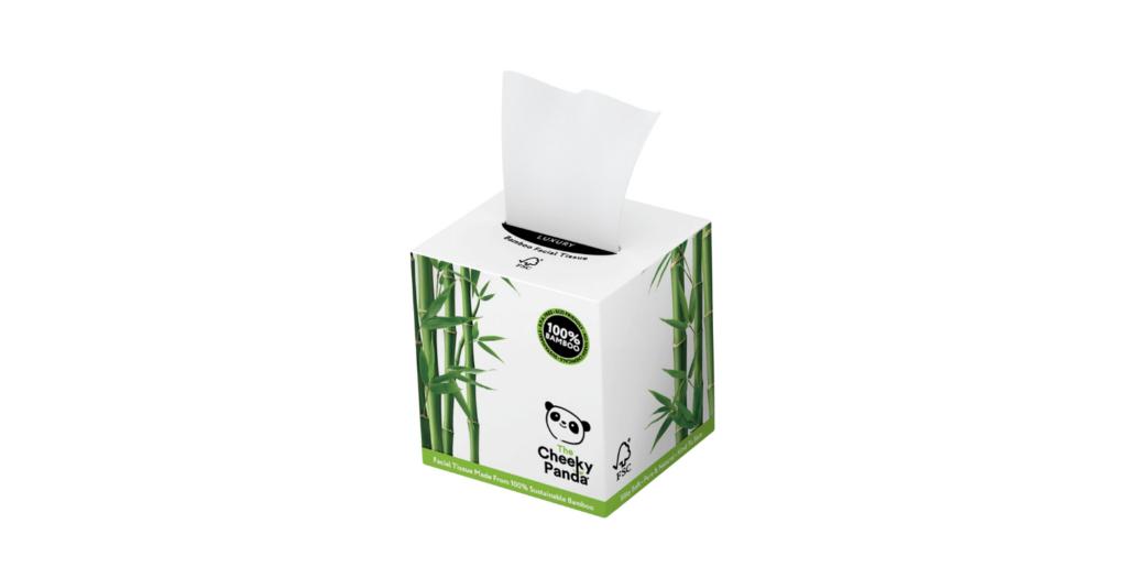 Kocka dobozos papírzsebkendő - Cheeky Panda