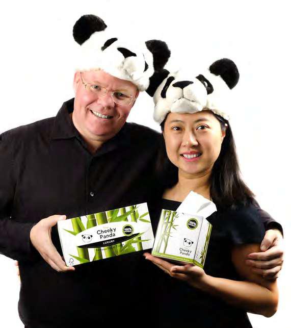 Chris és Julie Cheeky Panda