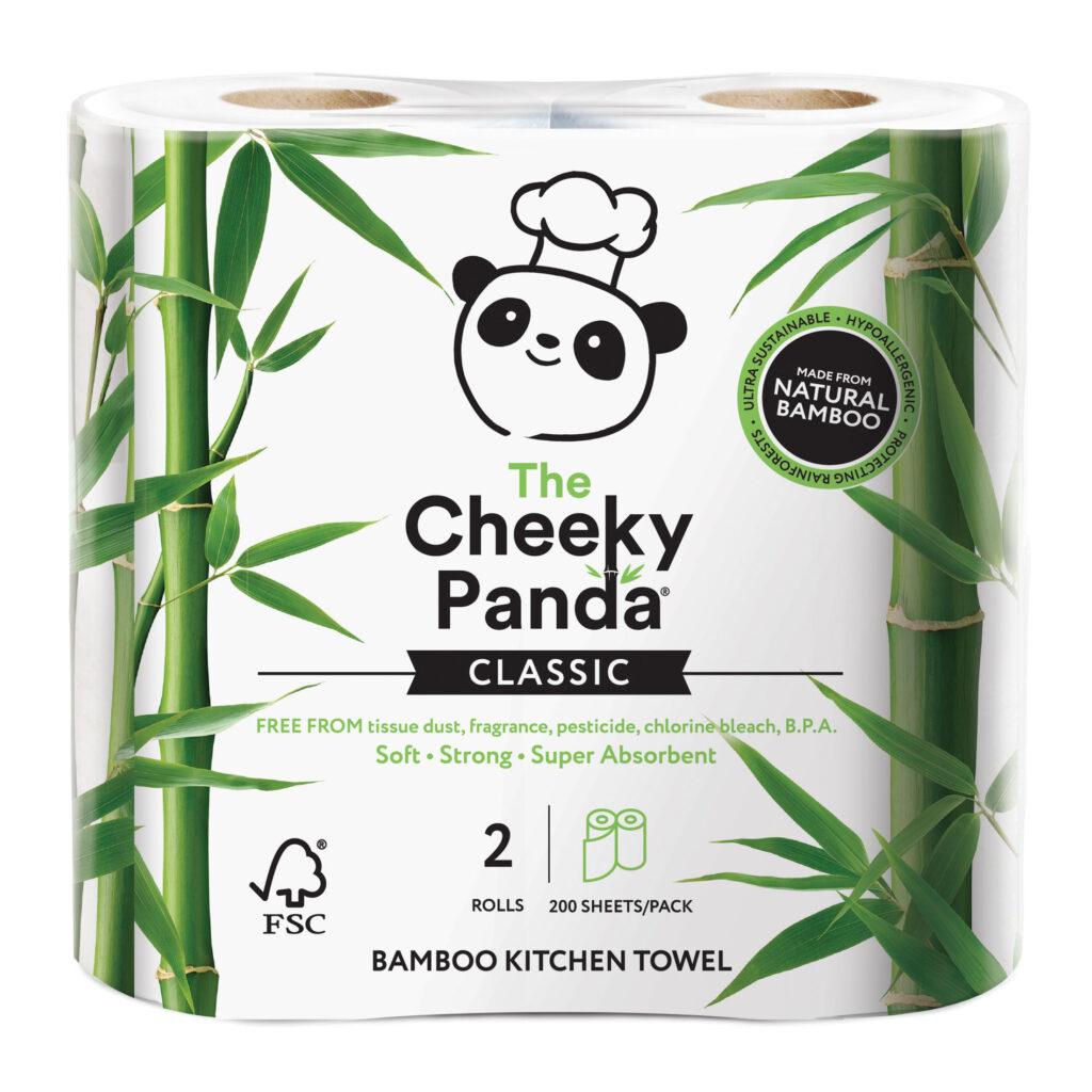 Bambusz törlőkendő - Cheeky Panda