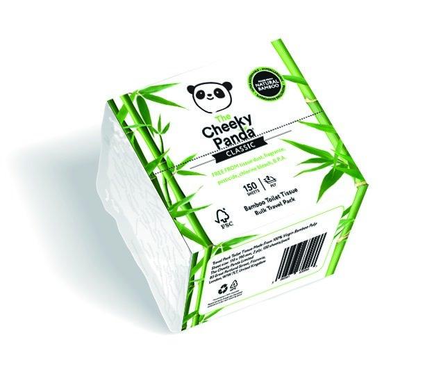 150 lapos WC papír csomag - Cheeky Panda