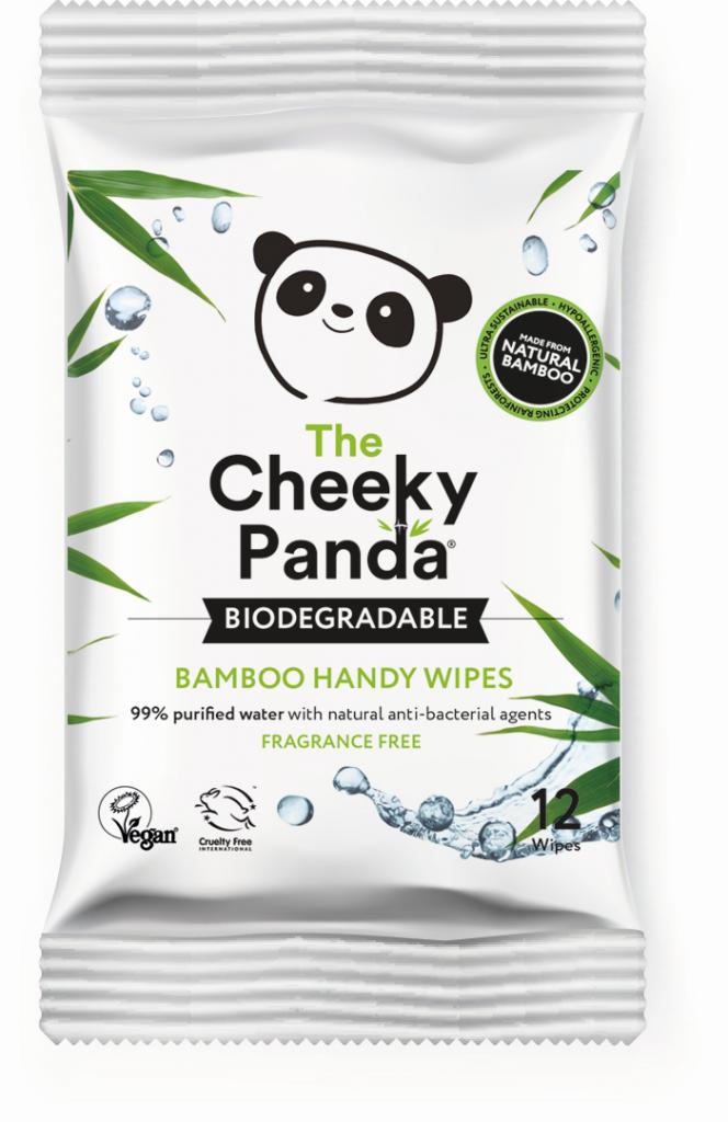 Bambusz nedves kéztörlő - Cheeky Panda