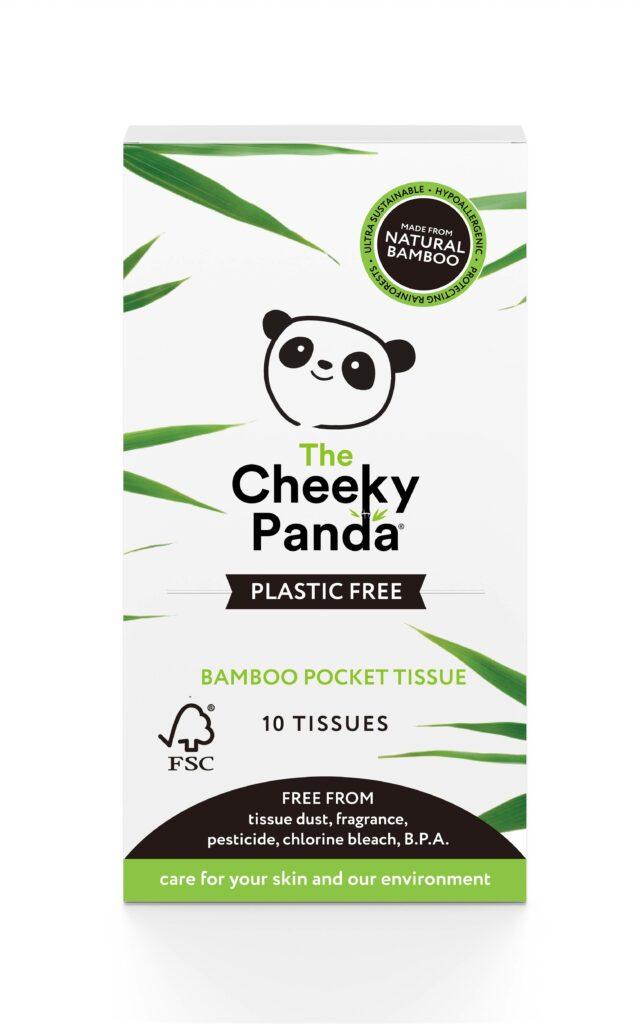 Kis csomagos papírzsebkendő - Cheeky Panda