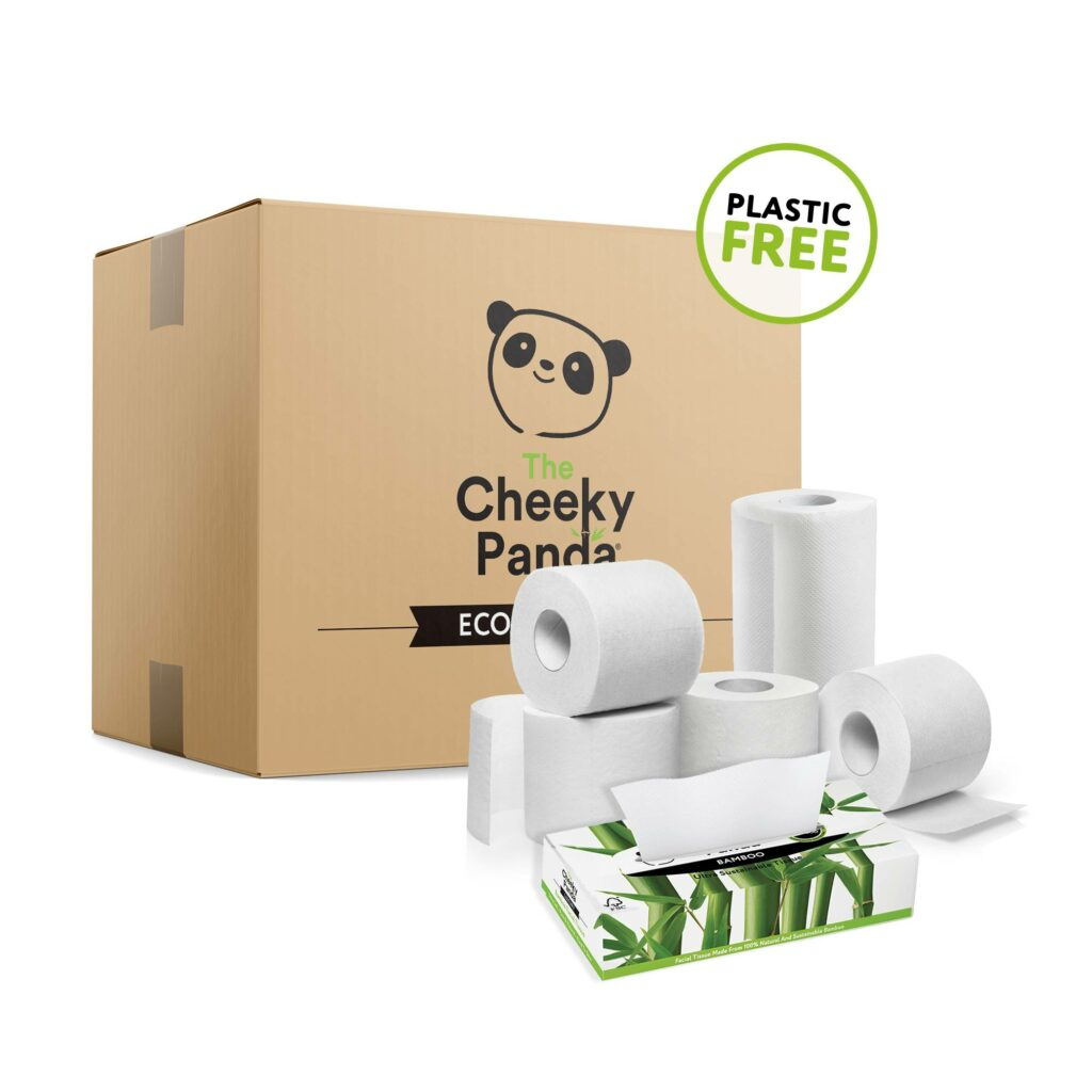 Mini Jumbo bambusz WC papír - Cheeky Panda